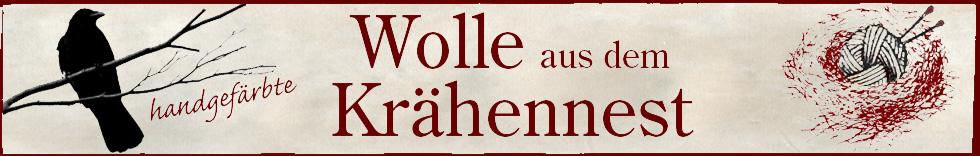 Krähennest - Wolle-Logo